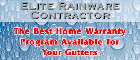 The Best Home Warranty Program Available for Your Gutters