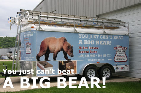 You just can't beat a big bear!